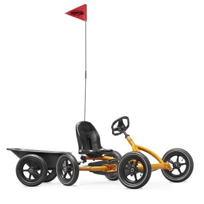 berg-buddy-pedal-go-kart-orange-trailer-flag-3-8yrs